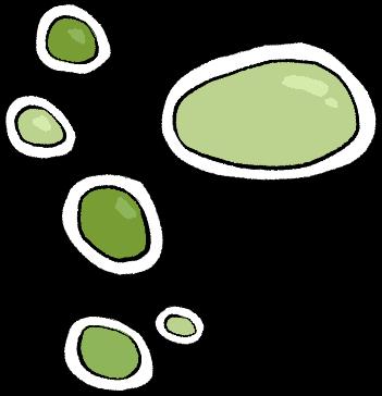 Kleine Blasen Kontakt 6